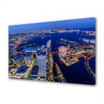 Tablou Canvas Luminos in intuneric VarioView LED Urban Orase Yokohoma Japonia