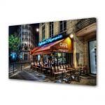 Tablou Canvas Cafenera in Paris Franta