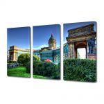 Set Tablouri Multicanvas 3 Piese Catedrala in St Petersburg Russia