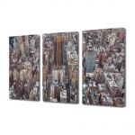 Set Tablouri Multicanvas 3 Piese New York
