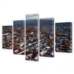 Set Tablouri Multicanvas 5 Piese Oras in Armenia