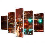 Set Tablouri Multicanvas 5 Piese Austin Texas SUA