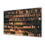 Tablou Canvas Vintage Aspect Retro Biblioteca de vis