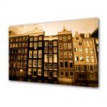 Tablou Canvas Luminos in intuneric VarioView LED Vintage Aspect Retro Case olandeze