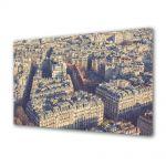 Tablou Canvas Vintage Aspect Retro Paris vazut de deasupra