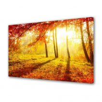 Tablou Canvas Peisaj Portocaliu aprins