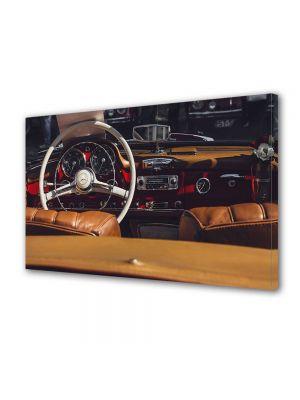 Tablou Canvas Interior retro Mercedes 40 x 60 cm - 62% reducere