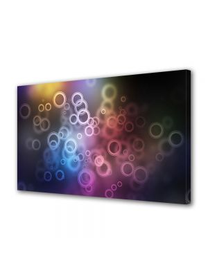 Tablou Canvas Luminos in intuneric VarioView LED Abstract Modern Bule de aer