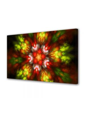 Tablou Canvas Luminos in intuneric VarioView LED Abstract Modern Forme de lumina