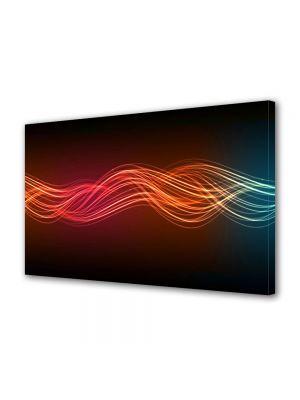 Tablou Canvas Abstract Unde luminoase