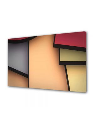 Tablou Canvas Luminos in intuneric VarioView LED Abstract Modern Desen