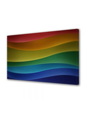 Tablou VarioView MoonLight Fosforescent Luminos in intuneric Abstract Decorativ Dealuri multicolore