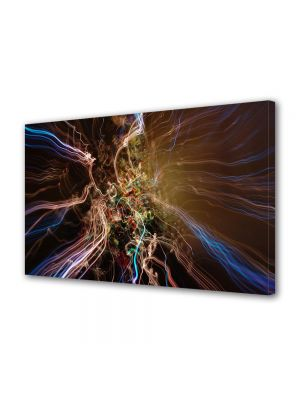 Tablou Canvas Luminos in intuneric VarioView LED Abstract Modern Spre alta galaxie