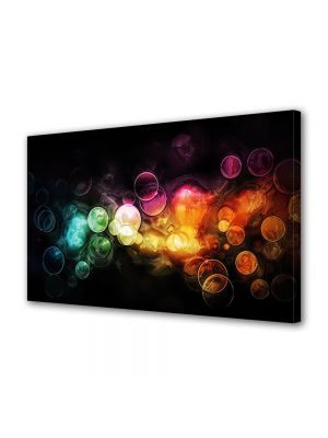 Tablou VarioView MoonLight Fosforescent Luminos in intuneric Abstract Decorativ Lumini in ploaie