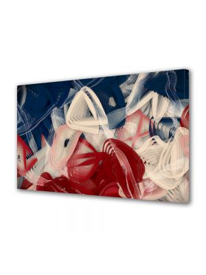 Tablou Canvas Luminos in intuneric VarioView LED Abstract Modern Artist