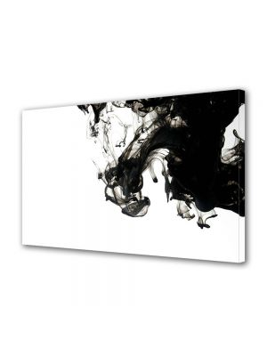 Tablou Canvas Abstract Fum B&W