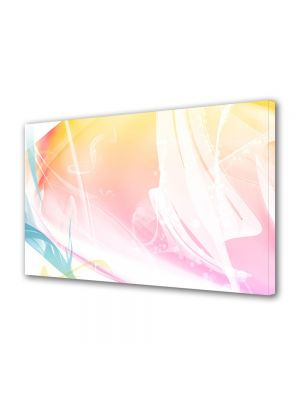 Tablou Canvas Luminos in intuneric VarioView LED Abstract Modern Decolorat