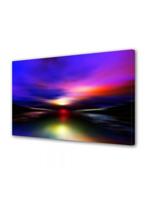 Tablou Canvas Abstract Aurora Boreala