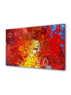 Tablou Canvas Luminos in intuneric VarioView LED Abstract Modern Ondulat