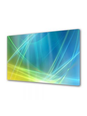 Tablou Canvas Luminos in intuneric VarioView LED Abstract Modern Desktop