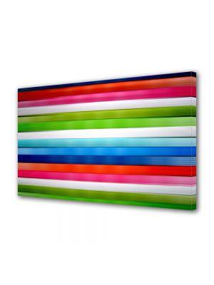 Tablou Canvas Abstract Linii orizontale