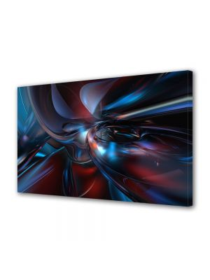Tablou Canvas Luminos in intuneric VarioView LED Abstract Modern Fizica