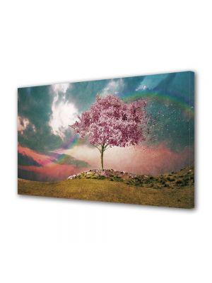 Tablou CADOU Copac roz 20 x 30 cm