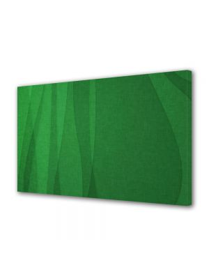 Tablou Canvas Abstract Matase verde