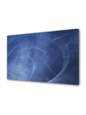 Tablou Canvas Luminos in intuneric VarioView LED Abstract Modern Unde