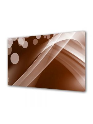 Tablou Canvas Luminos in intuneric VarioView LED Abstract Modern Maroniu