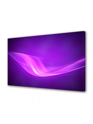 Tablou Canvas Luminos in intuneric VarioView LED Abstract Modern Raze violet