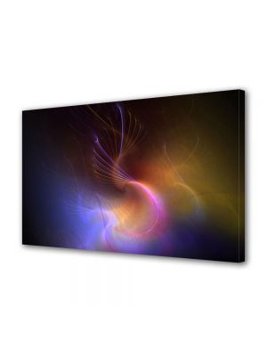 Tablou Canvas Luminos in intuneric VarioView LED Abstract Modern In spatiu