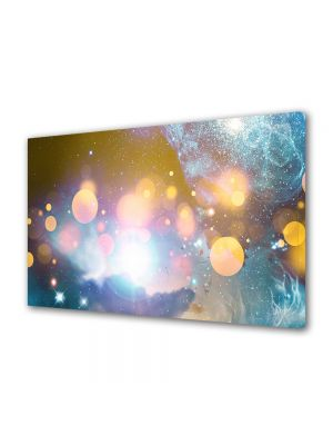 Tablou VarioView MoonLight Fosforescent Luminos in intuneric Abstract Decorativ Energii portocalii