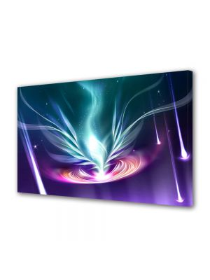 Tablou Canvas Luminos in intuneric VarioView LED Abstract Modern Energie