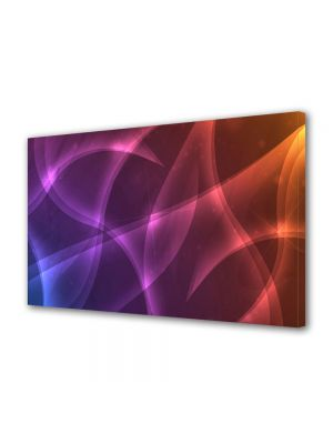 Tablou Canvas Luminos in intuneric VarioView LED Abstract Modern Lumini calde
