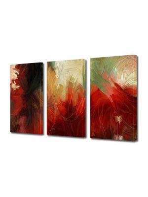 Set Tablouri Multicanvas 3 Piese Abstract Decorativ Pictura abstracta