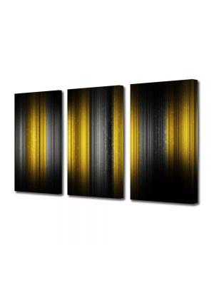 Set Tablouri Multicanvas 3 Piese Abstract Decorativ Rama