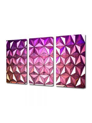 Set Tablouri Multicanvas 3 Piese Abstract Decorativ Ultramodern