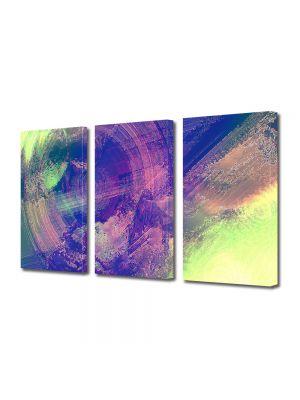 Set Tablouri Multicanvas 3 Piese Abstract Decorativ Sters