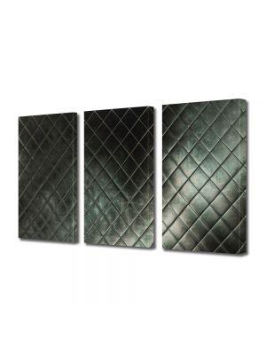 Set Tablouri Multicanvas 3 Piese Abstract Decorativ Faianta