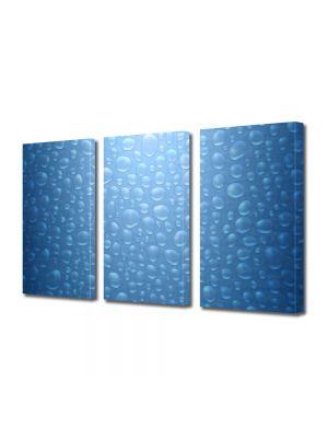 Set Tablouri Multicanvas 3 Piese Abstract Decorativ Bruma