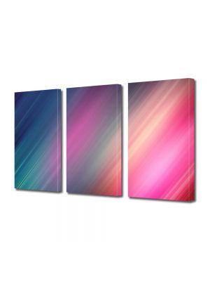 Set Tablouri Multicanvas 3 Piese Abstract Decorativ Dungi suprapuse