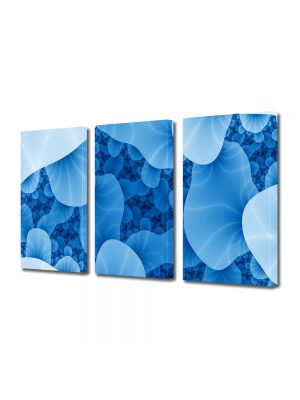 Set Tablouri Multicanvas 3 Piese Abstract Decorativ Meduze