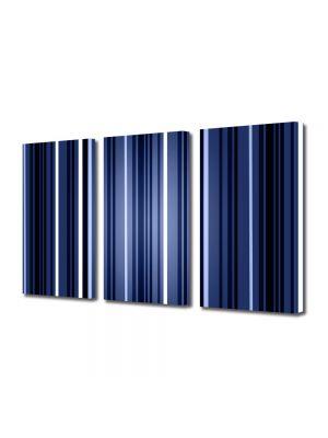Set Tablouri Multicanvas 3 Piese Abstract Decorativ Dungi verticale