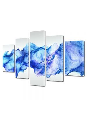 Set Tablouri Multicanvas 5 Piese Abstract Decorativ Timp oprit