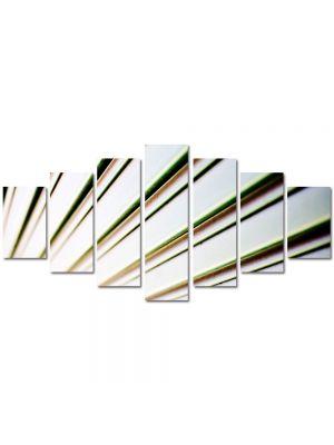 Set Tablouri Multicanvas 7 Piese Abstract Decorativ Raze