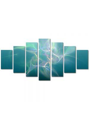 Set Tablouri Multicanvas 7 Piese Abstract Decorativ Descarcari electrice