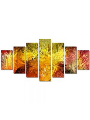 Set Tablouri Multicanvas 7 Piese Abstract Decorativ Pictura