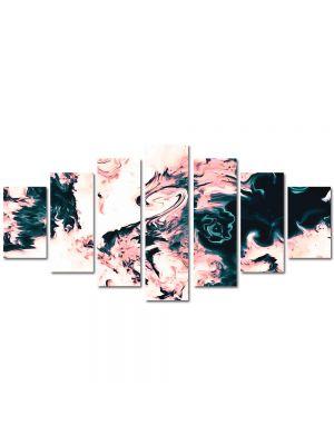 Set Tablouri Multicanvas 7 Piese Abstract Decorativ Dragon