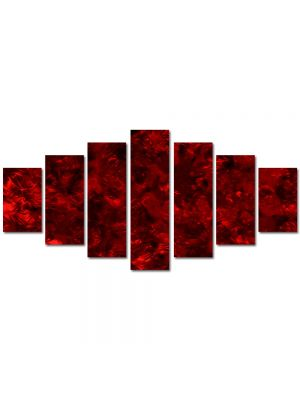Set Tablouri Multicanvas 7 Piese Abstract Decorativ In Iad